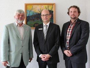 Rudi Großmann, Landrat AB Dr. Reuter, Björn Wortmann