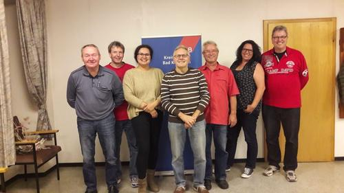 von links: Bernard Bruckbauer, Edgar Schneider, Anna Schlechter, Winfried Streit, Friedrich Wenzel, Melanie Kneuer, Herbert Gessner