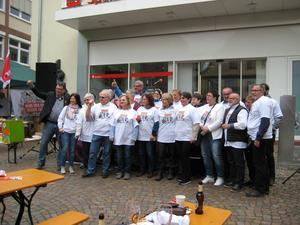 Maikundgebung 2017 des DGB in Lohr am Main