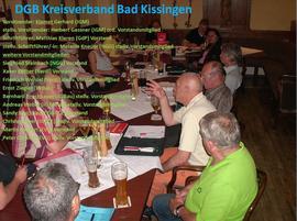 Mitglieder des KV Bad Kissingen