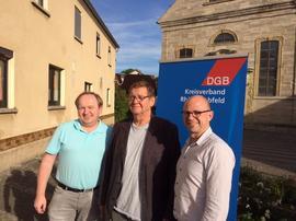 von links: Thorsten Raschert, Johann Treubert und Frank Firsching