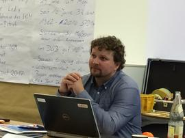 DGB Orgasekretär Björn Wortmann