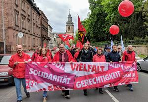 1. Mai 2018 in Aschaffenburg