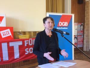 Annelie Buntenbach, DGB Budnesvorstandsmitglied