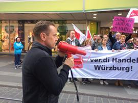 Peter König, Gewerkschaftssekretär ver.di Handel
