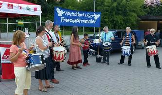 Ohne Waffen Frieden schaffen – Antikriegstag in Aschaffenburg