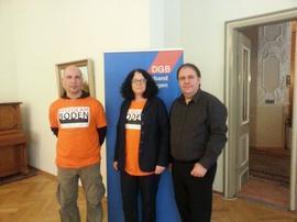 Markus Oppel,  Karin Stratmann  und Gerhard Klamet