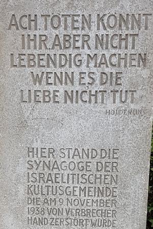 Wolfsthalplatz in Aschaffenburg