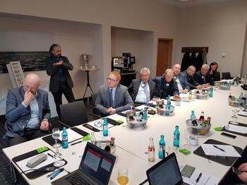Tunesische Delegation von Gewerkschaftern und Arbeitgebern in Aschaffenburg
