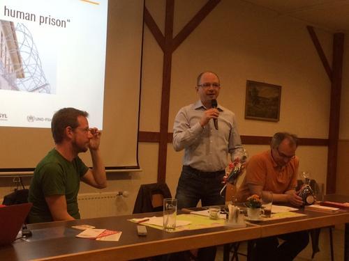 v.l. Alexandert Thal, Frank Firsching, Uwe Kraus