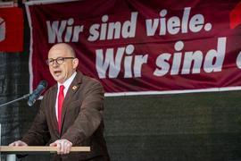 Frank Firsching, DGB Kreisvorsitzender Schweinfurt