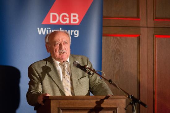 Werner Nawarotzky sprach über seine Erinnerung an die Zerschlagung der Firma Noell.