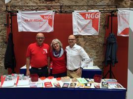 von links: Ottmar Montag, Karin Dauer, Frank Firsching