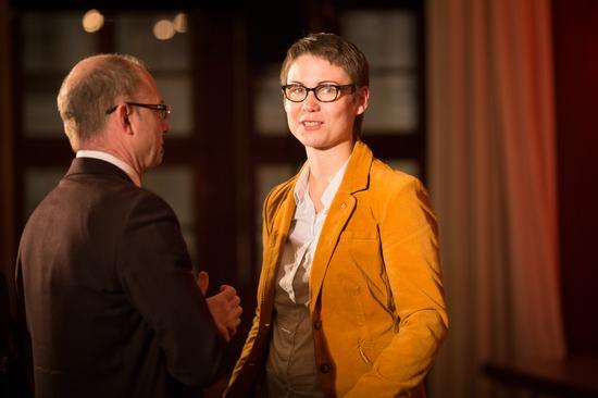 Die ehemalige DGB Jugendsekretärin für Nordbayern, Ulrike Eifler, war zu Gast beim DGB Festakt in Würzburg. Heute ist sie DGB Regionsgeschäfstführerin in Hanau.