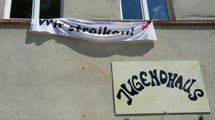 Streik im JuKuZ Aschaffenburg