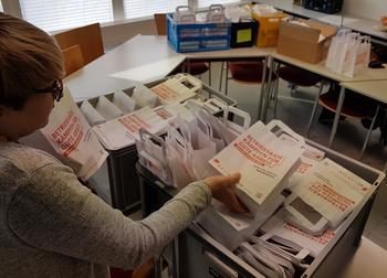 Betriebsräte kämpfen für gute Arbeit - Pressegespräche und Innenstadtaktion