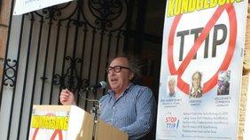 """400 Menschen fordern in Miltenberg """"Stopp TTIP"""""""