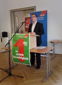 Daniel Friedrich, Gewerkschaftssekretär IG Metall Schweinfurt