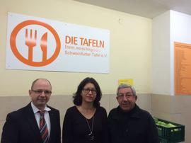 v.l. Frank Firschin, Dr. Verena Di Pasquale,Friedhelm Dapper
