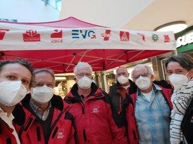 DGB-Pendleraktionstag Unterfranken: Die gesetzliche Rente stärken!