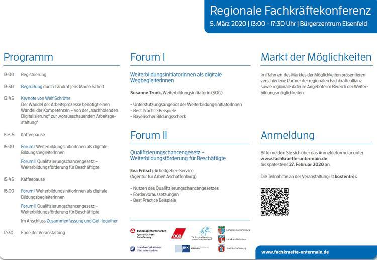 """Fachkräftekonferenz """"Chancen nutzen – Qualifizierung für die Arbeitswelt 4.0"""""""