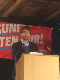 Benjamin Hornung, IG Metall Gewerkschaftssekretär