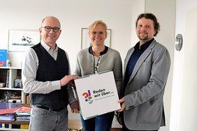 Im Rahmen des DGB Zukunftsdialogs haben sich DGB Regionsgeschäftsführer Frank Firsching, Kreisver-bandsvorsitzender Björn Wortmann mit der Aschaffenburger CSU Bundestagsabgeordneten Andrea Lindholz getroffen.