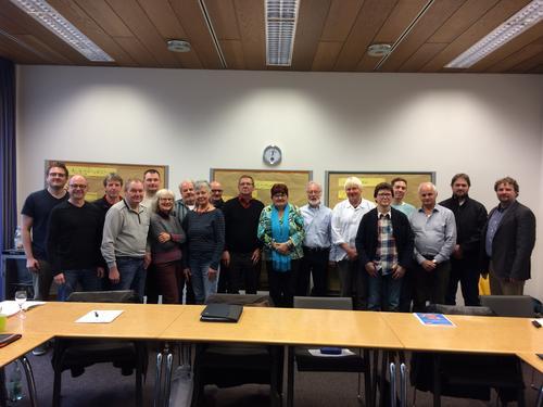 Teilnehmer der DGB Klausur