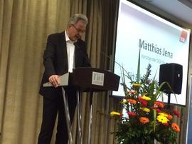 Matthias Jena, Vorsitzender des DGB Bezirk Bayern