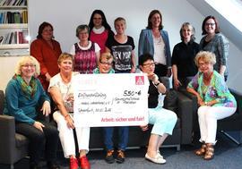 Frauenteam der IG Metall Schweinfurt
