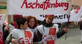 Aschaffenburg: Lehrkräfte streiken für besseren Lohn