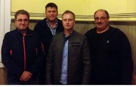 von links: Ralf Hössl, Peter Leist, Jens Öser, Jürgen Breunig