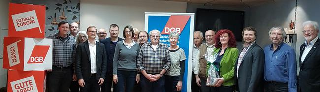 Wochenendseminar des DGB Unterfranken erarbeitet und diskutiert die gewerkschaftlichen Anforderungen an ein soziales und gerechtes Europa