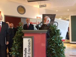 Reinhard Frankl am Rednerpult