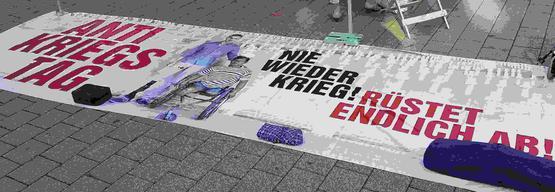 Antikriegstag in Aschaffenburg