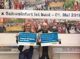 Marietta Eder und Frank Firsching