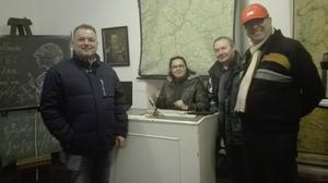 von links: Aribert Elpelt, Anna Schlechter, Bernard Bruckbauer, Herbert Gessner