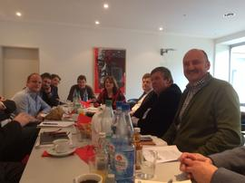 DGB Delegation mit dem unterfränkischen SPD-Bezirksvorstand