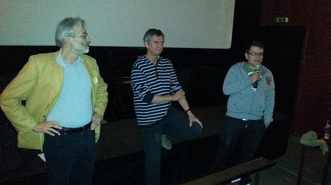 v.l.n.r Peter Ohlendorf, Martin Becher, Felix Benneckenstein
