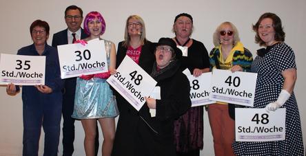 Das Frauenteam der IG Metall Geschäftsstelle Schweinfurt feierte den internationalen Frauentag im Museum