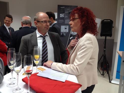 Frank Firsching und MdEP Kerstin Westphal
