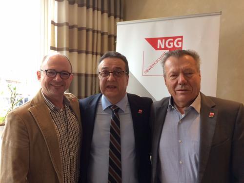von links: Frank Firsching, Ibo Ocak und Robert Bausewein
