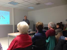 Diskussionsrunde mit Monty Schädel