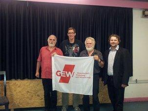 Reinhard Frankl, Phillipp Przynitza, Walter Büttner, Björn Wortmann