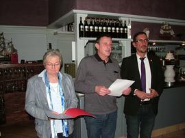 von links: Doris Berz, Reiner Reichert, Sinan Öztürk