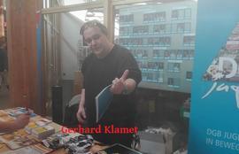 DGB Kreisvorsitzender Gerhard Klamet