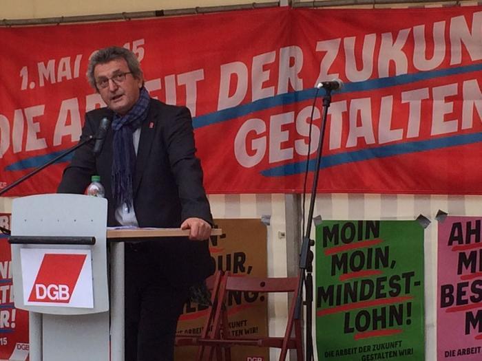 Jürgen Wechsler, Bezirksleiter der IGM Bayern