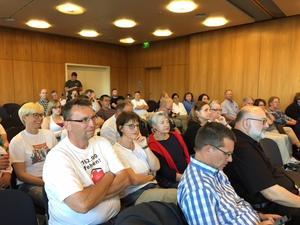 DGB Forum Unterfrankenin Aschaffenburg: Kranke Pflege? Leider Ja!