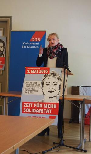 Marietta Eder, ver.di Gewerkschaftssekretärin
