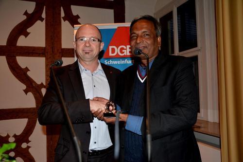 Frank Firsching und Amirul Haque Amin